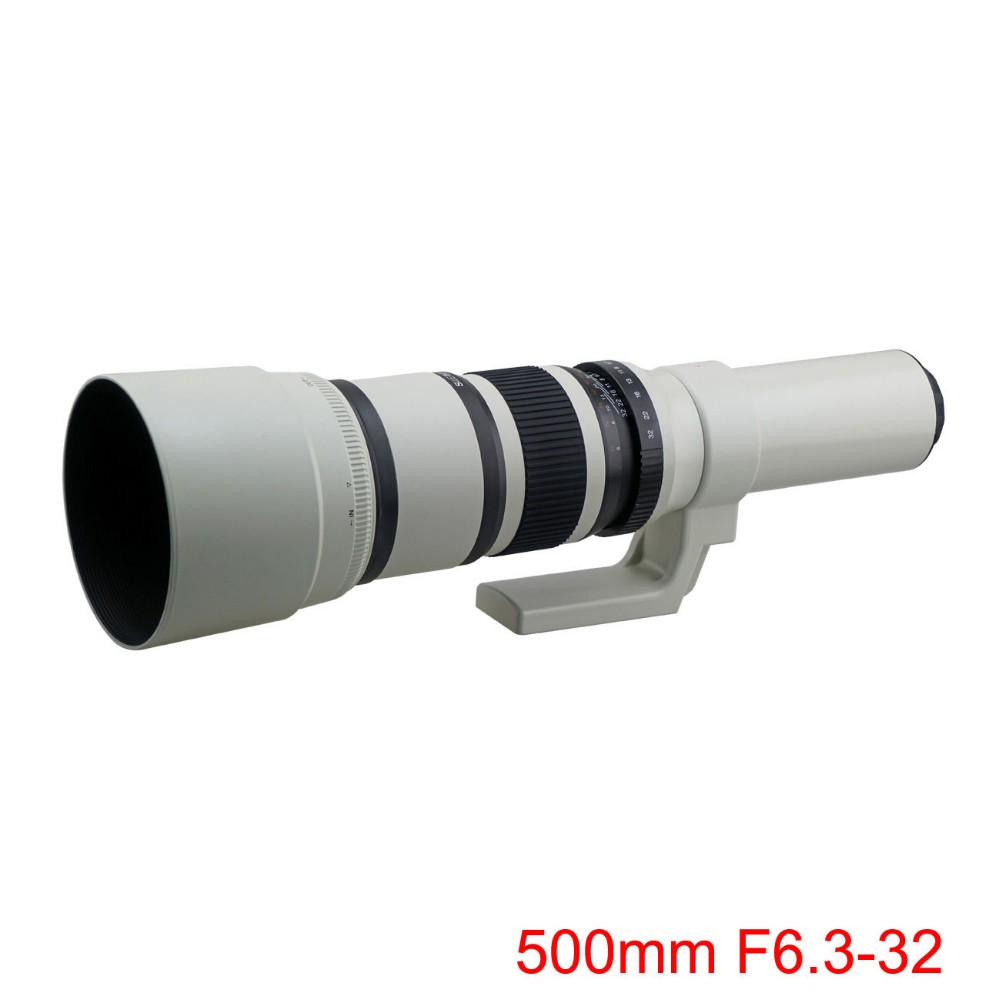 500mm f/6.3 Telephoto Manual Fixed Prime Lens for Nikon D3200 D3300 D5200 D5300 D5500 D7100 D7200 D800 D700 D90 Camera DSLR image