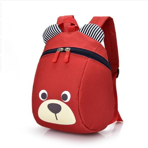 Cute Animal pig Backpack Kids School Bags For Teenage Girls Boys Cartoon Children Backpacks kindergarten bear Baby Bag Aged 1-3