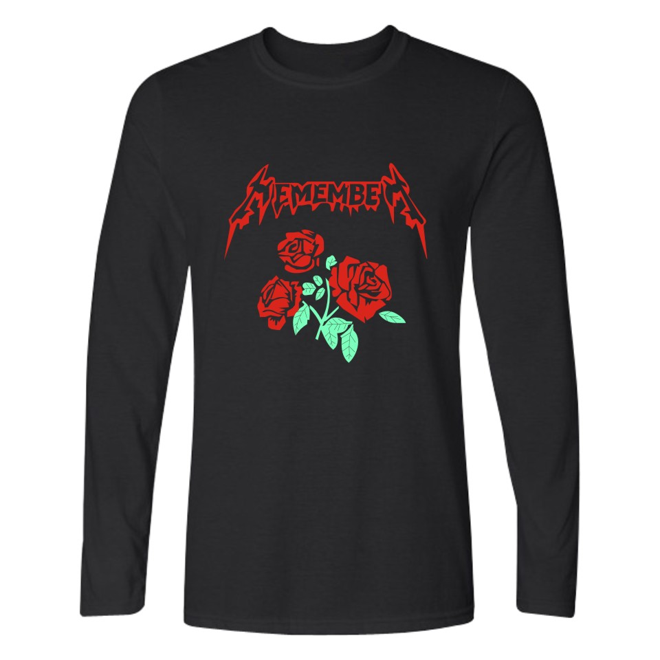 T shirt printing at white rose - Emembe White Cotton Long Sleeve T Shirt Ood Looking Rose Printing T Shirt With