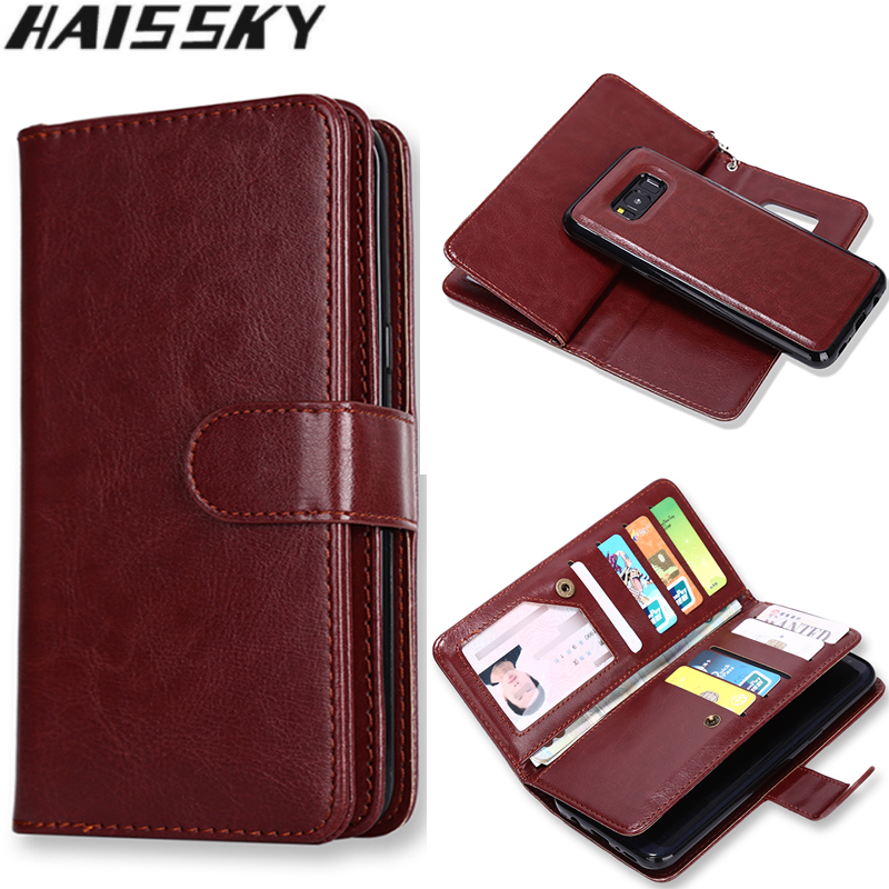 Haissky 9 Card Slots Phone Case για Samsung Galaxy S8 S8 Plus S8 + - Ανταλλακτικά και αξεσουάρ κινητών τηλεφώνων - Φωτογραφία 1