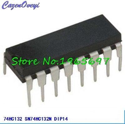 10pcs/lot SN74HC132N 74HC132 DIP-14 New Original In Stock