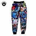 Harajuku Новая мода 2017 мужчин/женщин hip hop jogger брюки графический печати спортивные штаны хип-хоп уличной