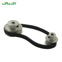 LUPULLEY Timing Belt Pulleys HTD3M Reduction 2 1 60T 30Teeth Timing Belt Pulleys Transmission Synchronous With