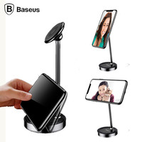 Baseus Desktop Phone Stand Holder For IPhone Samsung Xiaomi Mobile Phone Holder Stand Tablet PC Phone