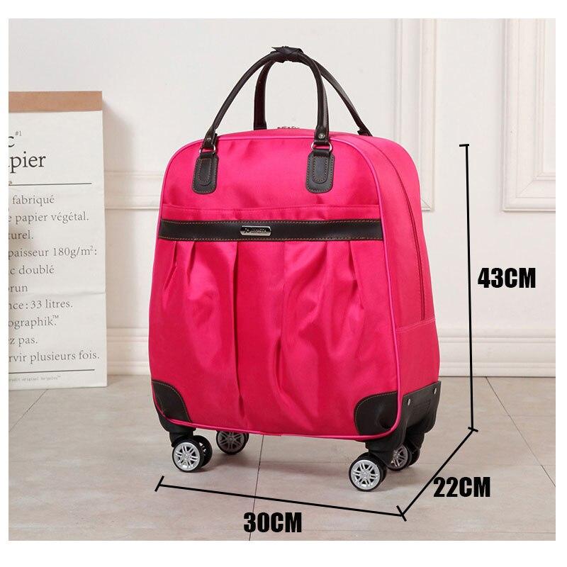 Haute qualité, coloré minimaliste 16/20/24/28 pouces taille PC roulant bagages Spinner marque valise de voyage - 3