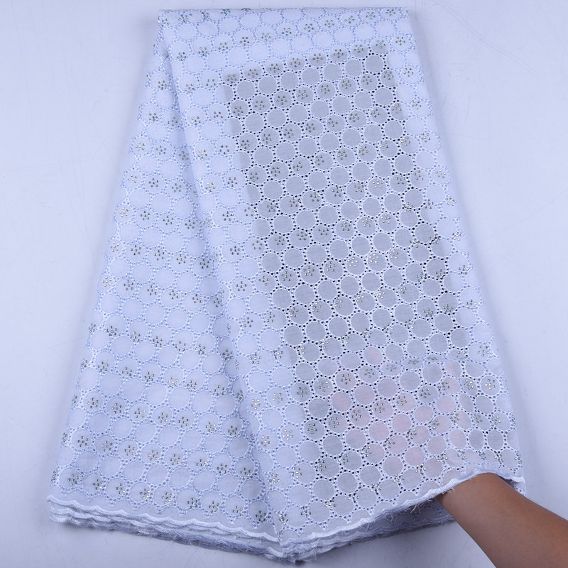 Cotton Lace Nigerian Lace Fabric Fashion African Cotton Swiss Voile Lace In Switzerland High Quality Dry