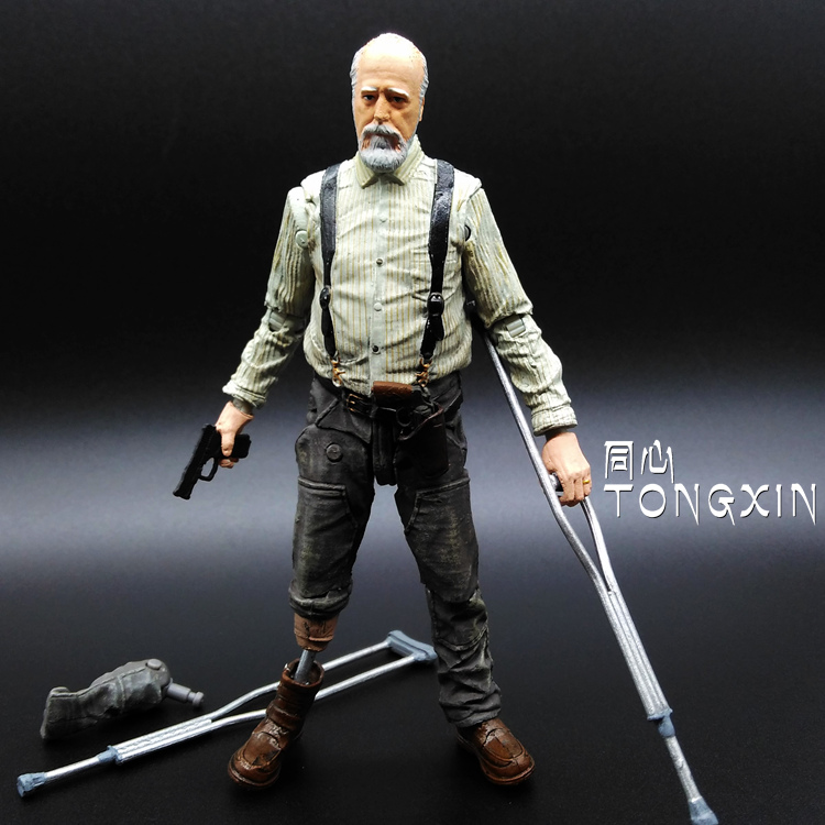 American TV Zombie Resident Evil 5 Inch Zombie Farmer May Even Touching Hand to Do McFarlane Toys H15