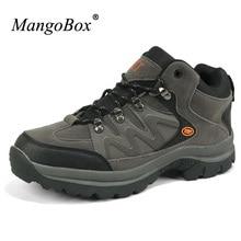Mangobox высокие Для мужчин S Открытый Обувь зима теплая Для мужчин альпинизм Сапоги и ботинки для девочек Хорошее качество Для мужчин Охота Сапоги и ботинки для девочек армейские ботинки для Для мужчин