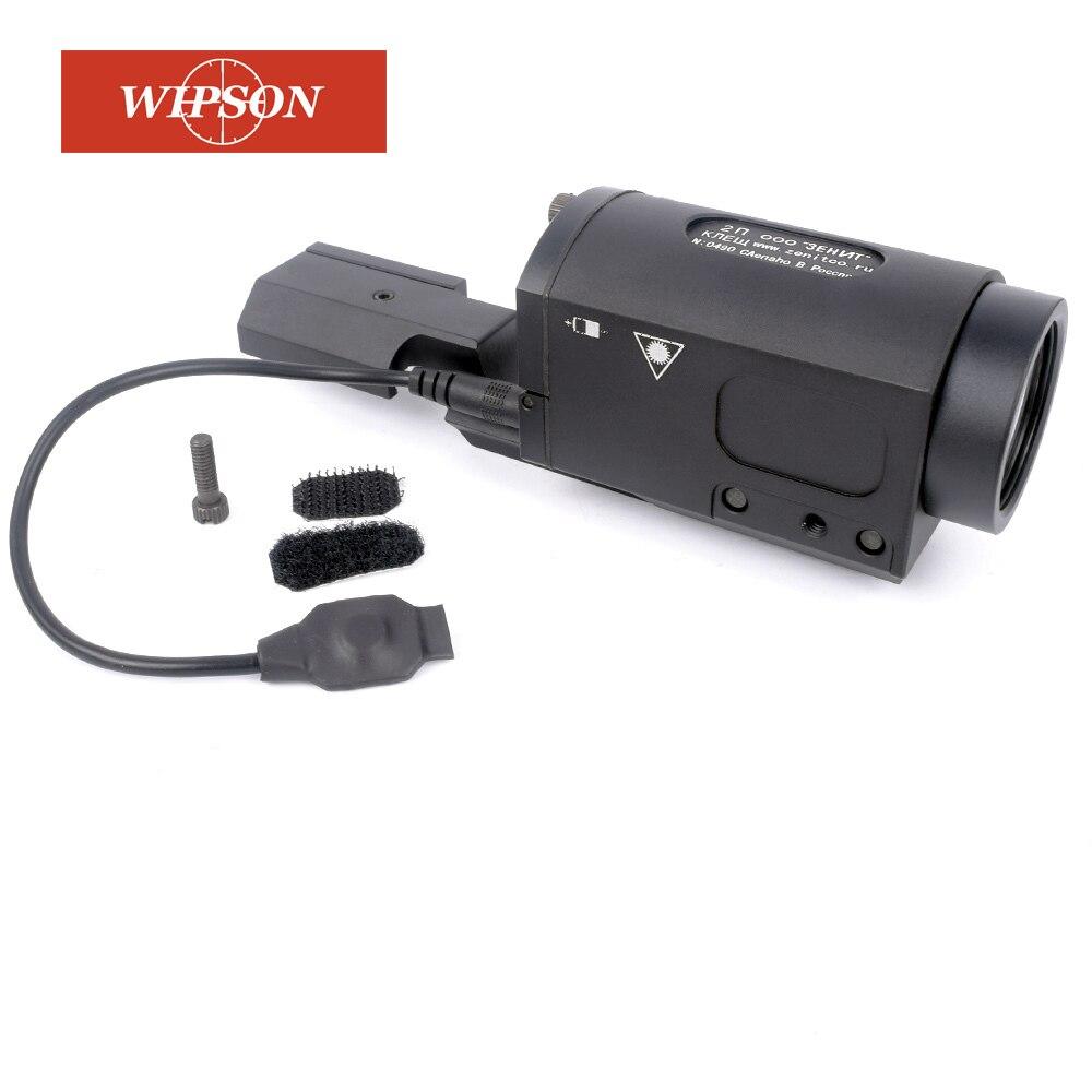 WIPSON AK SD Tactique Lumière ZENIT 2P-KLESH Lumière D'arme Avec Interrupteur À Distance Et Intégré 20mm Weaver Rail