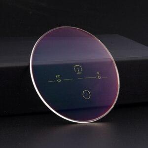Image 2 - 1,56 супер жесткие цифровые свободные Фотоэлектрические многофокальные оптические линзы с AR покрытием, 2 шт.