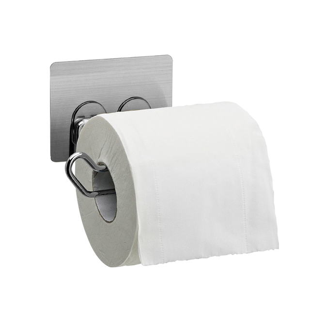 Non Trace Stick Bathroom Toilet Paper Roll Holder Towel Storage Holders  Wholesale Accessories Supplies Gear