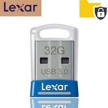 100% מקורי Lexar USB 3.0 דיסק און קי JumpDrive S45 32GB עט כונן במהירות גבוהה 150 MB/s מיני cle רכב usb מקל pendrive animado