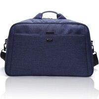 Poche de pliage grand voyage sac totes Nylon femme fichier organisateur polyester de stockage de jute sac avec bandoulière