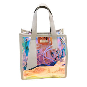 Bolsa Shoulder-Bag Holographic Laser Handbag Fashion Women's Feminina Lady -H15 Bag-Capacity
