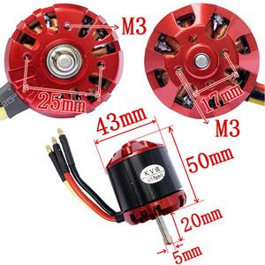 Image 5 - 1pc 4250 Swiss Motor Brushless Outrunner DC motor Strong power supply 500KV Large Torque External Rotor Motor with Large Thrust