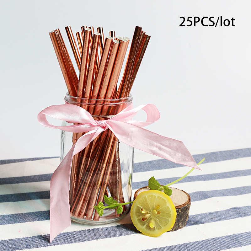 Вечерние комплекты из розового золота письмо с днем рождения большие надувные шары номер воздушные шары свадебный фон одноразовые наборы посуды детский душ