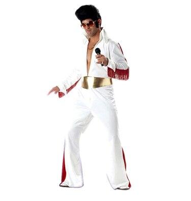 الكبار الرجال مايكل جاكسون بيلي جان ازياء أداء الملابس الرقص ارتداء مجموعات هالوين فستان بتصميم حالم وتتسابق