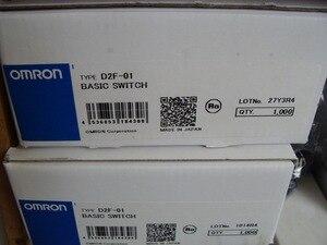 Image 3 - 10 pièces/lot fabriqué au japon 100% original OMRON souris micro interrupteur souris bouton D2F 01 1.47N or contacts 10 millions de vie