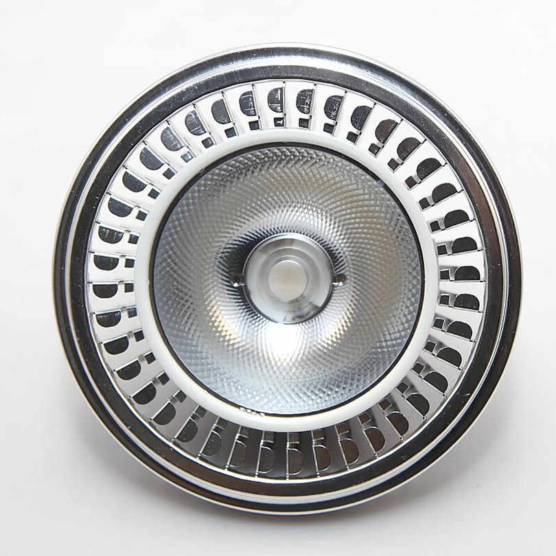 Foco LED AR111 de 10W y 15W de YRANK, Blanco cálido, Bombilla LED COB QR111 G53 lámparas de techo LED DC12V AC85-265V, Envío Gratis