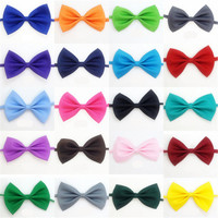 100 Pieces / Batch Promotion Colorful Hand adjustable Pet Dog Tie Pet Bow Tie Bow Tie Dog Grooming Supplies Dog Accessories