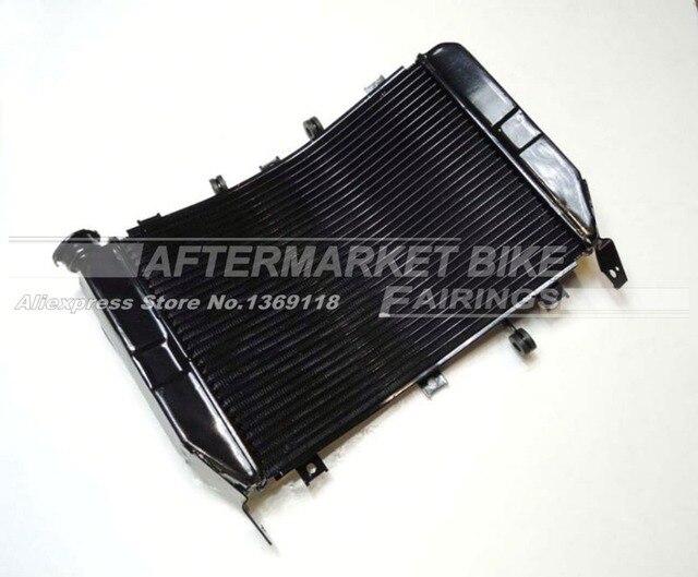 Мотоцикл Алюминиевый Радиатор Для Kawasaki ZX6R ZX 6R 2003 2004 Охлаждения Cooler