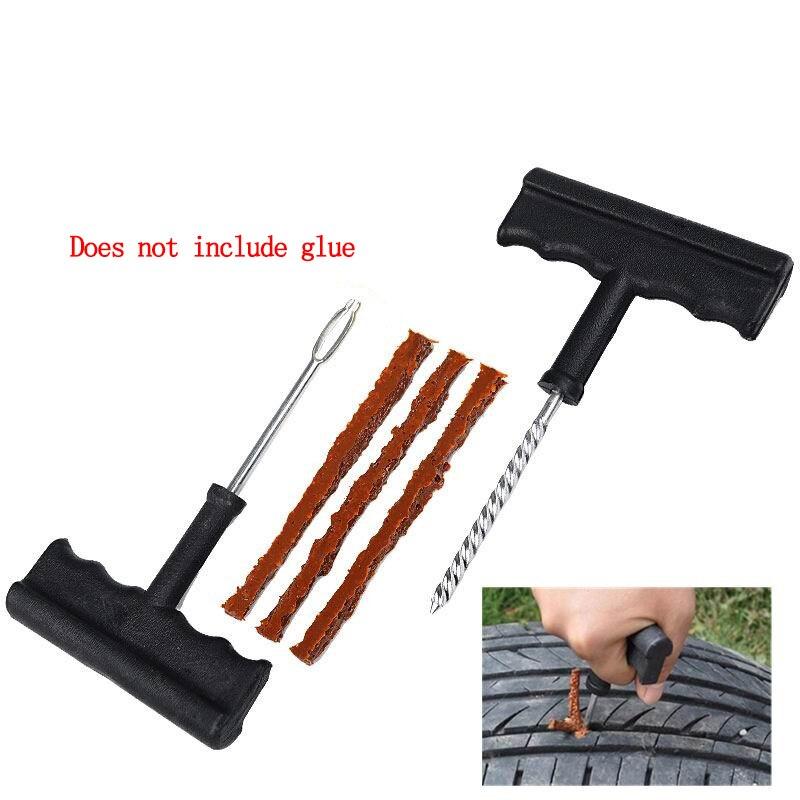 Image 3 - 2019 New Car Tire Repair Tool Kit For Tubeless Emergency Tyre Fast Puncture Plug Repair Block Air Leaking For Car/Truck/Motobike