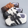 Baby Boy Girl Baby Moccasins Soft Moccs Shoes Bebe Fringe Soft Soled Non-slip Footwear Crib Shoes New PU Suede Leather  S559