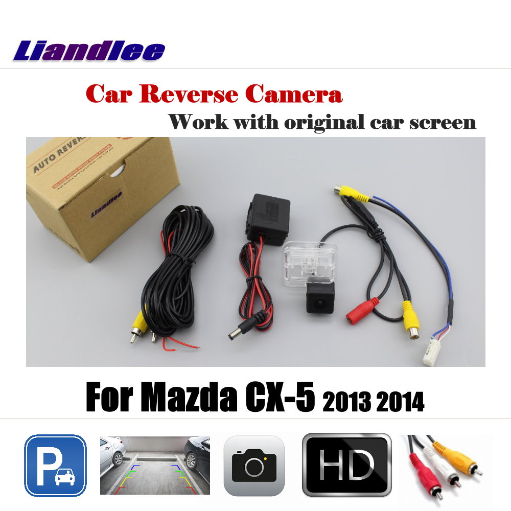 Liandlee Car Rearview  Reversing Parking Camera For Mazda CX-5 CX 5 CX5 2013 2014 Display / Rear View Backup Back