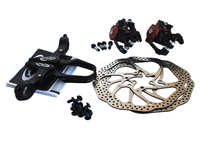 Front and rear Mountain MTB bicycle bike disc brake avid BB5 rotor brakes 160mm