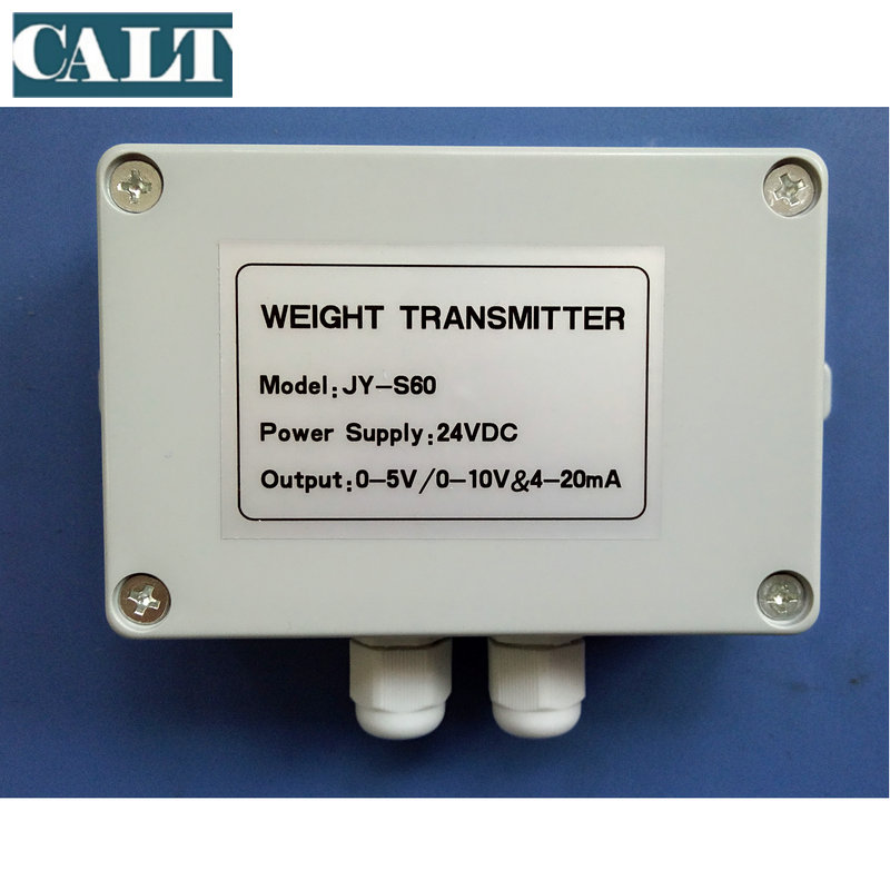 Cheap Weighing transmitter weight scale load cell amplifier Voltage and current converters 0-5V 0-10V 4-20mA JY-S60 ...