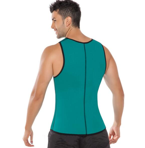 89308233fa1 Men Weight Loss Corset Tummy Slimming Spandex Waist Cincher Waist Body  Shaper Vest Corset mens bodysuit C7A1-in Shapers from Underwear    Sleepwears on ...