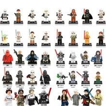 1pcs Single Sale Star Wars Force Awakens Building Blocks font b Figures b font Compatible with