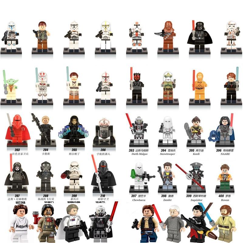 1pcs Single Sale Star Wars Force Awakens Building font b Blocks b font Figures Compatible with