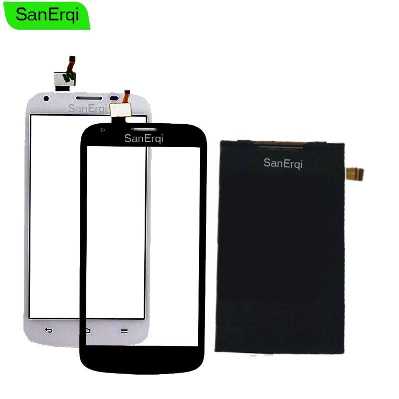 SanErqi 5.0'' Touch Screen LCD For Huawei Ascend Y600 LCD Display Screen and Touch Screen Digitizer Sensor|Mobile Phone Touch Panel| |  - title=
