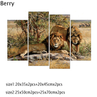 Lions King On Canvas Animal Home Decoration Frameless Diamond Embroidery 5D Diamond Painting Cross Stitch Wedding