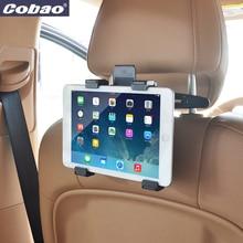 Cobao universal 360 grados giratoria asiento trasero del coche reposacabezas titular de montaje de la tableta 8 9 10 10 11 pulgadas tablet pc soporte para el ipad air