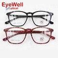 Frame Ótico do Acetato De Óculos da moda Retro Das Mulheres Dos Homens Designer de Negócios de Alta Qualidade de Edição Limitada M9609