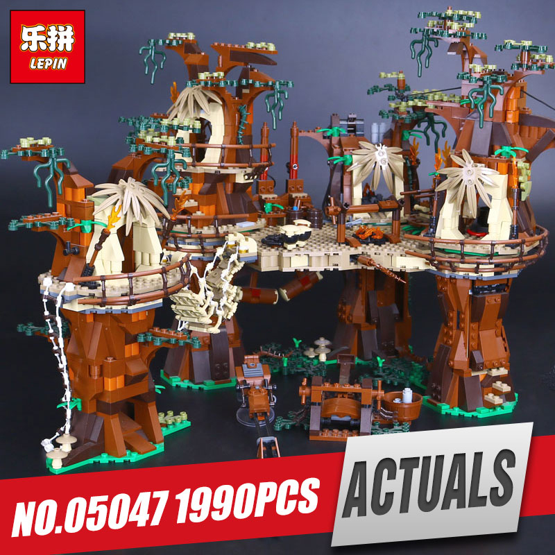 LEPIN 05047 1990Pcs Star set Village Model Educational Building Kits Blocks Bricks Compatible Children War Toys for Gift 10236 lepin 17002 3478pcs paris eiffel tower model kits building blocks bricks toys compatible 10181 for children gift