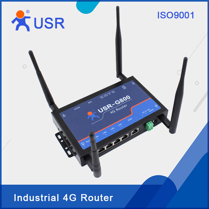 USR-G800-42 Industrial 4G Wireless Routers WiFi 802.11b/g/n TD-LTE and FDD-LTE Network for Sale telit ln930 dw5810e m 2 twh3n ngff 4g lte dc hspa wwan wireless network card for venue 11