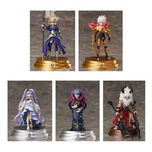 6pcs Fate/Grand Order Duel-collection Jeanne d'Arc Ruler Saber  figure grand collection григорий лепс