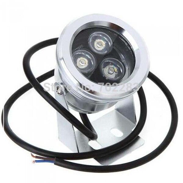 MJJC 12 В 3 Вт (3*1 Вт) IP68 Водонепроницаемый СВЕТОДИОДНЫЙ Прожектор Открытый Подводные Лампы Теплый Белый Холодный Белый свет Сада Освещение для ...