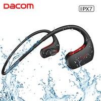 DACOM 4 1 Sport Bluetooth Earphone IPX7 Professional Waterproof Wireless Headphone Stereo Bass Headset With Handsfree