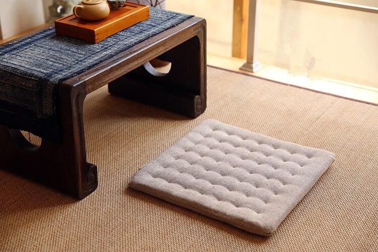 Deluxe Zafu & Zabuton 2 Piece Set Yoga/Meditation Cushions Square 60 ...
