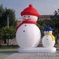 X036 4mH 13.2 'Comercial Airblown Inflável Do Boneco de neve de Natal Quintal Decoração Art + 1 CE/UL Blower + Reparação crianças
