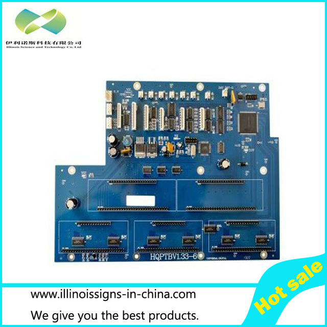 6head 35PL Printhead Board for Infiniti/Challenger printer parts лодка intex challenger k1 68305