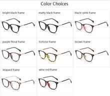 2018 Women's Optical Retro Eye Glasses Frame Unisex Spectacle Frame Fashion Eyeglasses Vintage with Clear Lens Oculos 8122