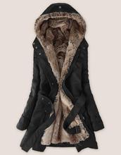2016 women's wool coat winter liner trench overcoat medium-long slim fur jacket overcoat cashmere coat women