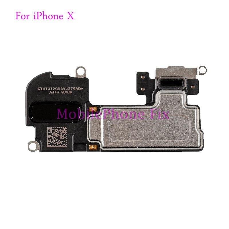 Earpiece Replacement For iPhone X Ten Ear Speaker Receiver Earspeaker Flex Cable Repair Parts-in
