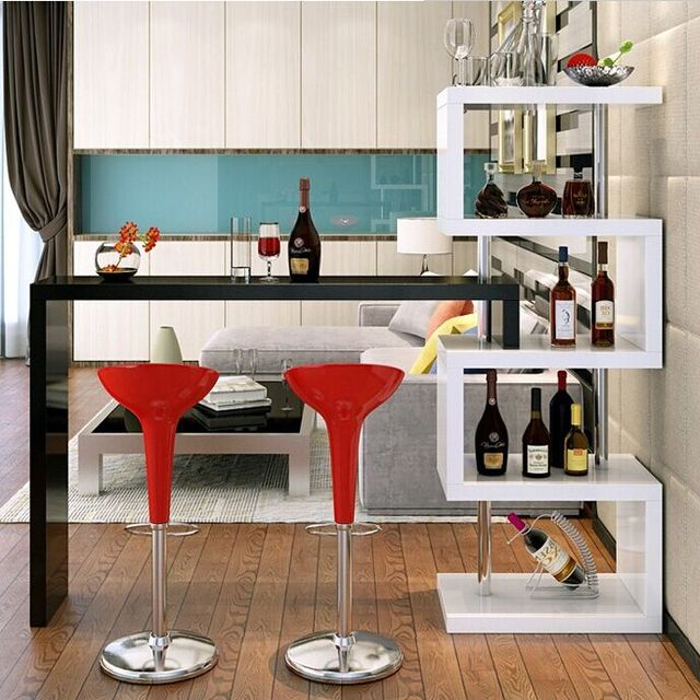 Bar Tables Household Living Room Cabinet Partition Wall Rotary Cooler Small Corner  Bar Sets