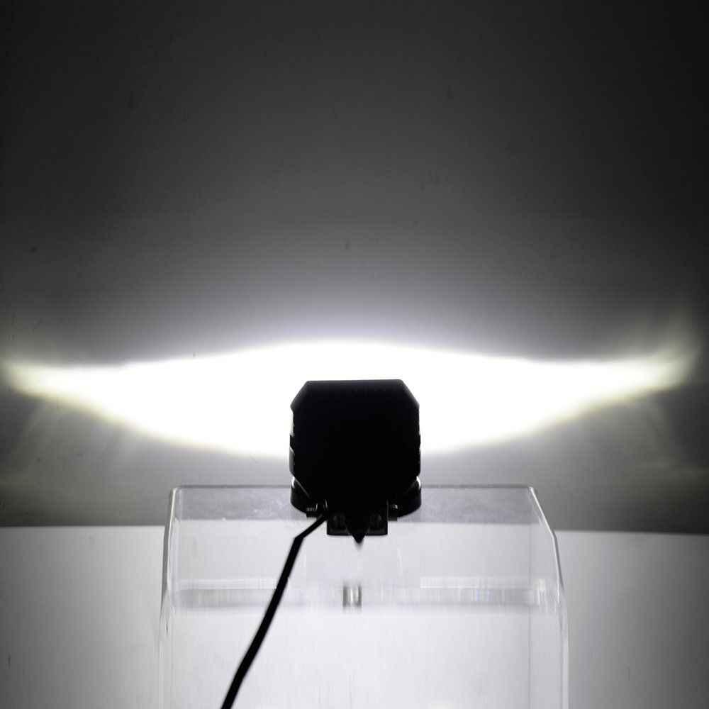 """2 шт. 40 Вт 3 """"дюймовый светодиодный прожектор для вождения внедорожного автомобиля мотоцикла внедорожника ATV Jeep"""